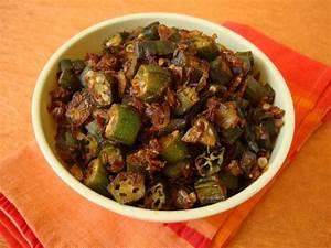 Okra Fry Recipe-Andhra Style Recipe-Bhindi Fry Recipe