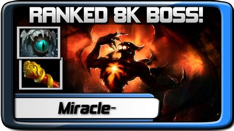 miracle sf pro ranked 8k mmr dota 2 gameplay youtube
