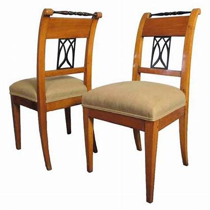 Chairs Biedermeier Dining Side Furniture Pair 1stdibs