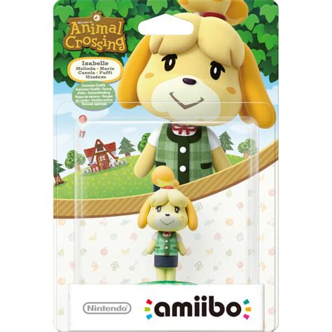 isabelle summer outfit amiibo animal crossing