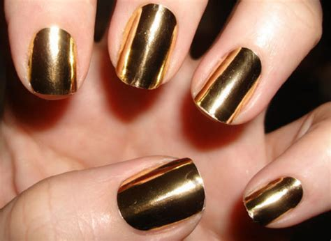 Gold Nail Foil Wraps Polish Strips Stickers