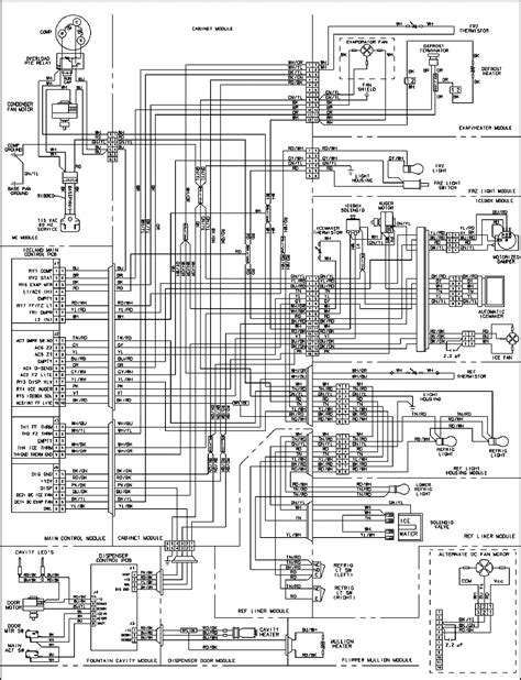 Ge Side By Side Wiring Diagram by Lg Refrigerator Parts Diagram Awesome Maytag Thermostat