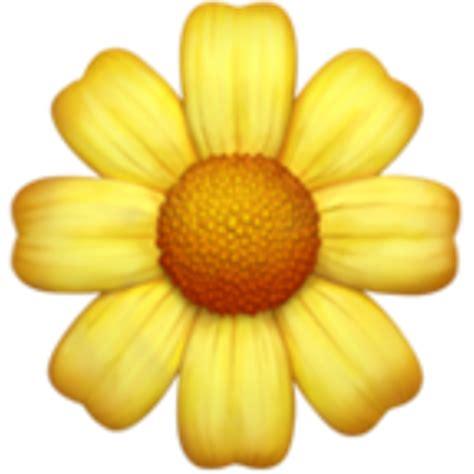Iphone Emoji Flowers Daisy