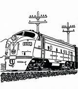 Coloring Diesel Railroad Drawing Engine Train Trains Printable Streamlined Getcolorings Getdrawings Sheets Dauber Engines Thomas Locca sketch template