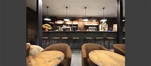 Bar Style Industriel : style industriel restaurant ~ Teatrodelosmanantiales.com Idées de Décoration