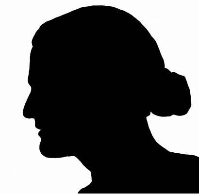 Silhouette Face Curly Clip Boy Clipart Head