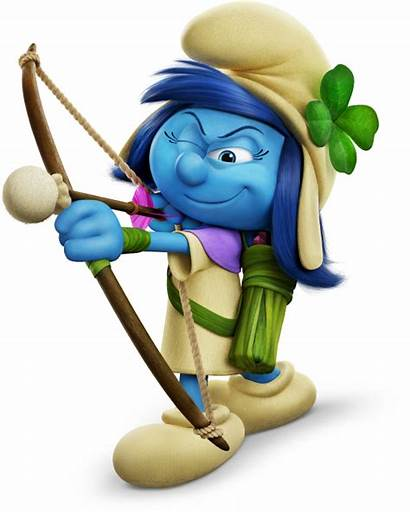 Smurfs Smurf Village Lost Smurfstorm Cartoon Storm