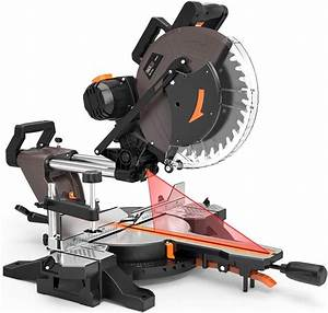 Tacklife Sliding Compound Miter Saw 12