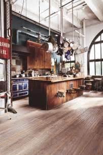 industrial style kitchen islands cuisine industrielle 43 inspirations pour un style