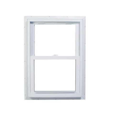 american craftsman       series double hung fin vinyl window white