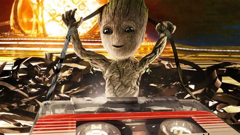 Wallpaper Baby Groot, Guardians Of The Galaxy Vol 2, Hd