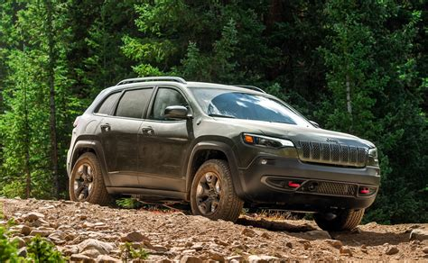 jeep cherokee trailhawk  road review slugging