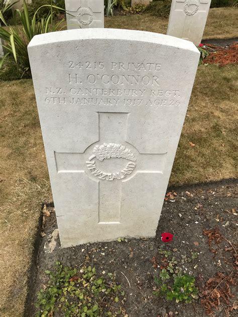 hugh oconnor  cenotaph auckland war memorial museum