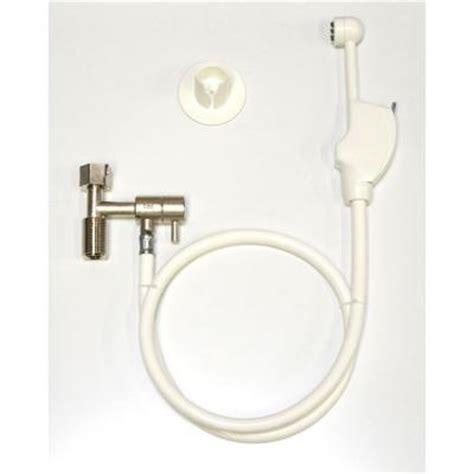 homedepot bidet mrs bidet spray attachment for toilet in white 1301 the