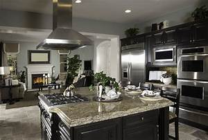 37 High-End Dark Wood Kitchens (Photos) - Designing Idea