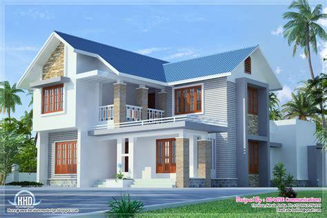 Home Design Exterior Three Fantastic House Exterior Designs Kerala Home Design And Floor Plans
