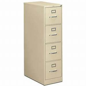 hon 310 series 4 drawer letter file 26 1 2quotd vertical putty With hon 310 series 4 drawer letter file