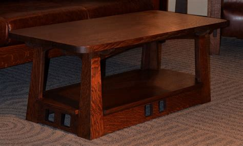 arts and crafts coffee table limbert craftsman coffee table