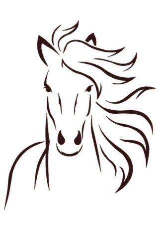 vinyl horse svg