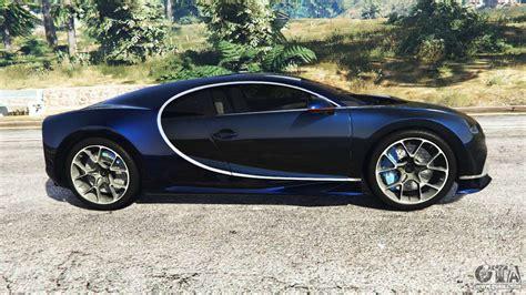 Gta V Bugatti Chiron by Bugatti Chiron For Gta 5