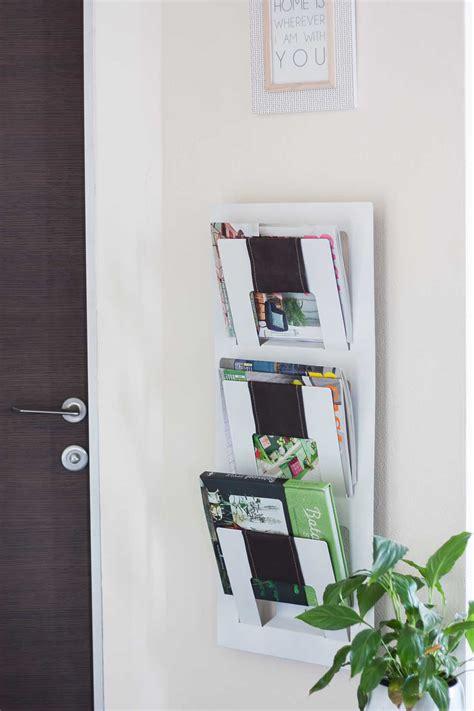 ikea magazine rack ikea magazine rack before after one o diy