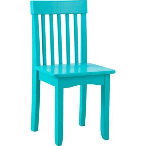 Kidkraft Avalon Chair Aqua 16615 by Kidkraft Chaise Pour Enfant Avalon Turquoise Pas Cher