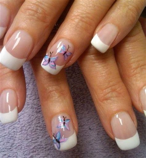 butterfly nail designs 30 pretty butterfly nail designs