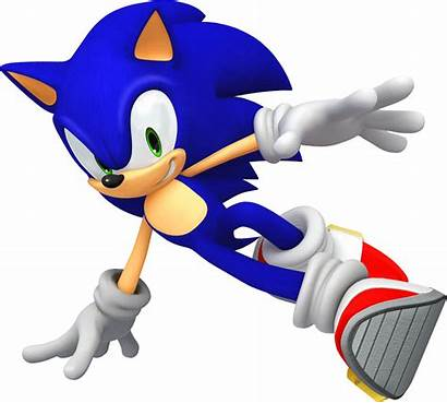 Sonic Unleashed Official Drifting Hedgehog 3d Character
