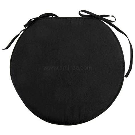 galette ronde pour chaise galette de chaise ronde nelson noir galette et coussin