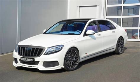 Brabus Maybach Rocket 900 Gets White And Blue Treatment
