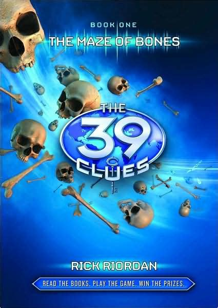 The Maze Of Bones (the 39 Clues Series #1) By Rick Riordan, Hardcover  Barnes & Noble®
