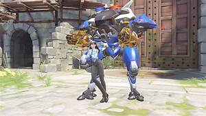 Image DVa Officer Golden Gunpng Overwatch Wiki