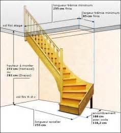 Escalier Standard Mesure by Escalier Standard 1 4 Tournant Drayac