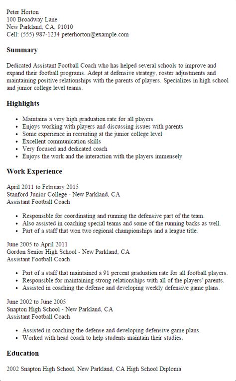 Professional Assistant Football Coach Templates To. Objective Portion Of Resume. Fsu Resume. Us Navy Address For Resume. Sales And Marketing Experience Resume. Resume For Hardware And Networking Engineer. Junior Analyst Resume. Senior Financial Analyst Resume. Telephone Operator Resume