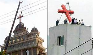 Christian's horror as China tears down THOUSANDS of ...