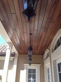 tongue and groove ceiling Tongue & Groove Ceiling Level 1 - Exterior - Miami - by Bennett Carpentry, Inc.