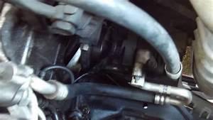 2002 Hynudai Sonata Power Steering Return Hose Line Repair