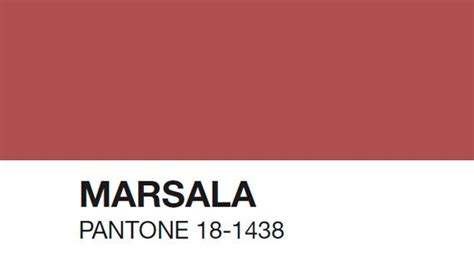 pantone 2015 color of the year marsala is pantone s 2015 color of the year
