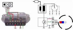 Ignition System With Hall Effect Sender