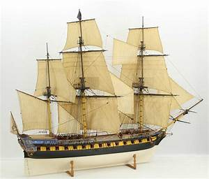 Ship model 18th century French 40 gun frigate / Saved by ...