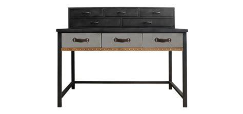 bureau bois massif pas cher bureau style industriel pas cher meuble de salon contemporain