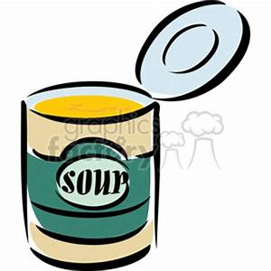 Can of Soup Clipart (72+)