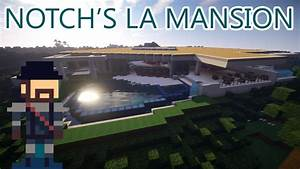 Notch's Mansion has Been Recreated in Minecraft
