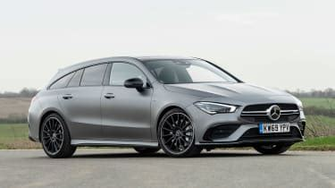 We may earn money from the links on this page. New Mercedes-AMG CLA 35 Shooting Brake 2020 review - pictures | Auto Express