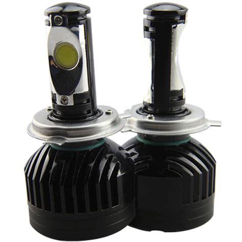 led headlight bulbs h4 hi low beam led car headlights pk