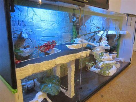 lighting for bearded dragon vivarium reptile terrarium entertainment center with led lights