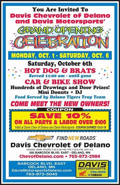 Opening Grand Dealership Celebration Dealer Delano