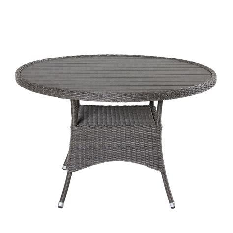 Essgruppe Runder Tisch by Polyrattan Essgruppe Runder Tisch Wohn Design