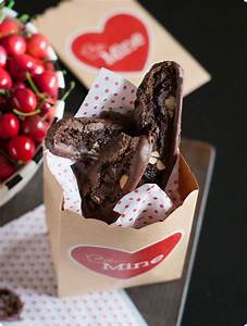 Chocolate Almond Cherry Biscotti...don't try to resist ...