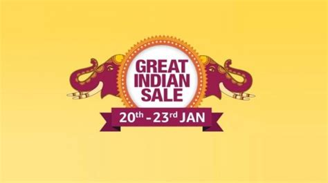 amazon great indian sale    offer big discounts